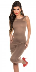 ooKouCla_Etuikmidi_dress_with_sexy_insight__Color_CAPPUCCINO_Size_10_0000K18417_CAPPUCCINO_1